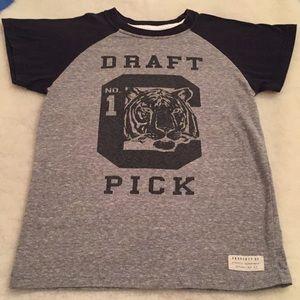 Raglan tee.  No 1 draft pick